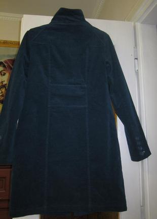 Пальто-тренч бархатне. англія.3 фото