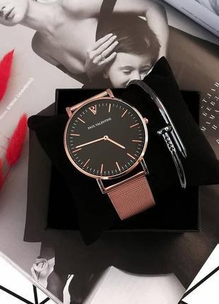 Часы paul valentine ,часы женские. годинник. красивые часы rosefield