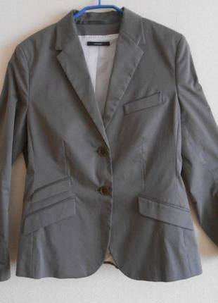 Классический пиджак из хлопка