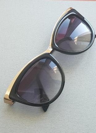 Черные очки - кошки солнцезащитные