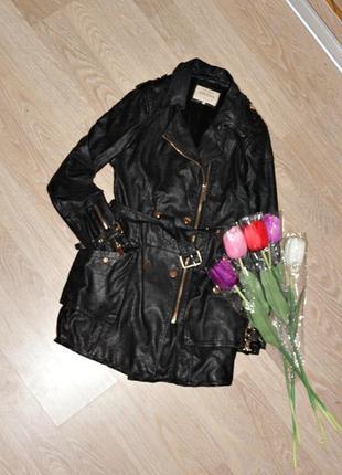 Крутой тренч, куртка, косуха плащ кожзам, вещи в наличии💚+скидки, заходите💚