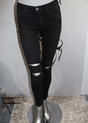 Черные джинсы tally weijl