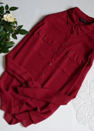 -50% на весь одяг) блуза шифонова new look
