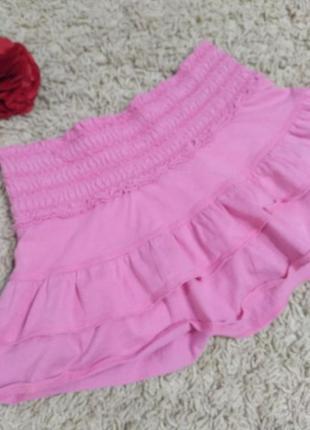 Юбка-шорты для танцев на девочку 11-15 лет