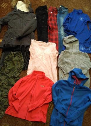 36. пакет одягу на дівчинку підлітка розмір 9-11 років,