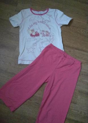 Пижама для девочки baykar 134р 9-10л
