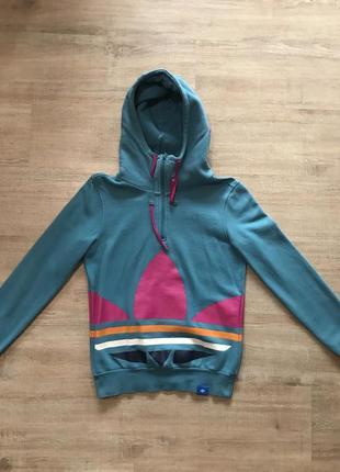 Продам худи ,джемпер adidas originals st trefoil logo hoodie размер 38
