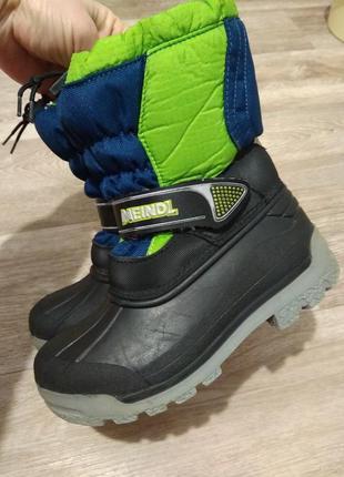 Термоботинки meindl snowy 3000 junior winterboots ботинки зимние сноубутсы.  оригинал. 32 р e2c5aea1e2b