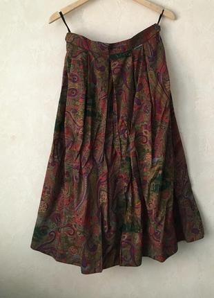 Ретро юбка с карманами