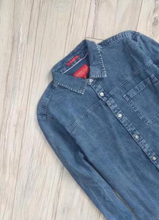 Джинсовые мужские рубашки 2019 - купить недорого мужские вещи в ... 3bc10c72a6535