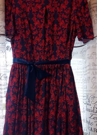 Супер платье с узором