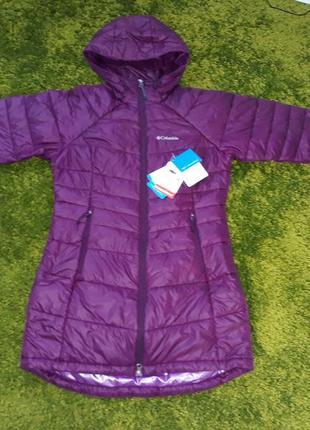 Пуховик, зимняя куртка сolumbia turbo down 650, р. м, 46-48