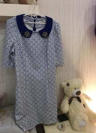 Нежное модное платье