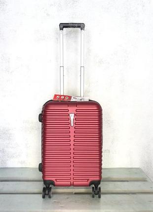 Качество прочный чемодан из поликарбоната маленький для ручной клади валіза  пластикова 768421bca04