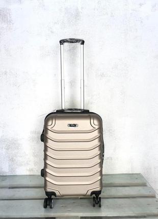Качество прочный чемодан из поликарбоната маленький для ручной клади валіза пластикова
