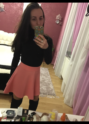 Трендовая розовая юбка candy couture