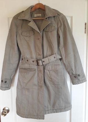 Утепленный плащ, пальто