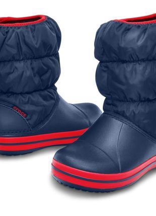 Зимние сапоги crocs, c8, с9, с10, с11, с12, с13, j1, j2, j3