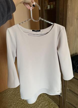 Блуза-свитшот цвета пудры