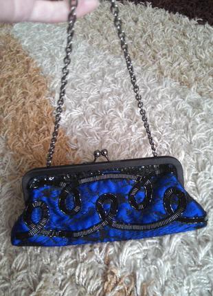 Новый клатч сумочка ридикюль в винтажном стиле