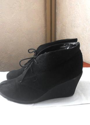 Фирменные ботинки ботильоны new look, р.42 код f4219