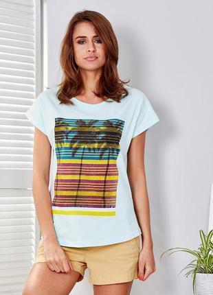 Женская футболка арт. 17127