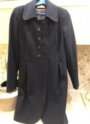 Пальто демисезонное синее 38 размер - тм season