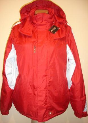 """Новая теплая горнолыжная куртка на флисе""""x-mail """" (есть два размера) 14 р. сток"""