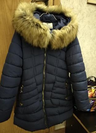 Куртка парка зимняя теплая