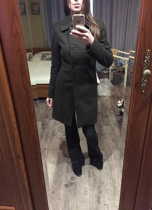 Пальто шерсть benetton