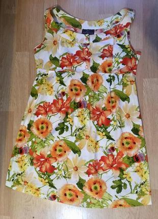 Летний, яркий сарафан, платье для беременных neyret, размер 48, л