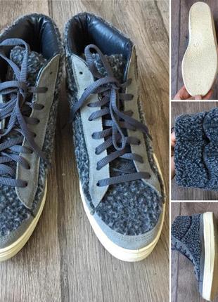 39-40 р. 100% кожа.стильные комфортные итальянский кроссовки-кеды savida
