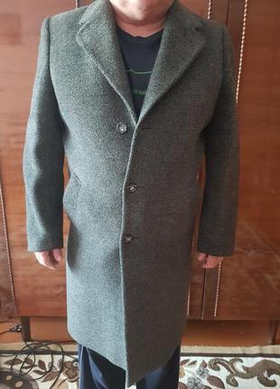 Мужское кашемировое пальто