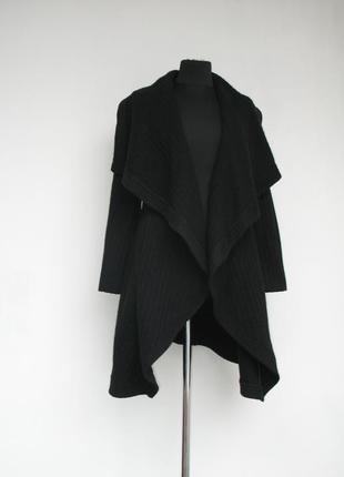 Шикарное пальто - кардиган от oasis, шерсть