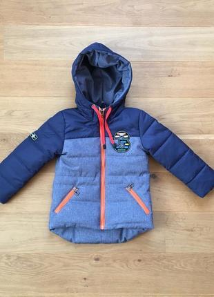 Демисезонная куртка мальчик от  3 - 7 лет, есть много размеров