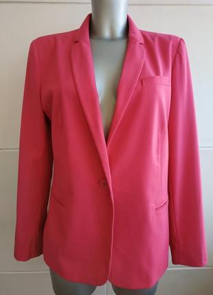 Стильный пиджак next розового цвета