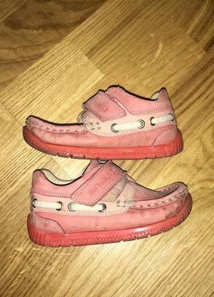 Кожаные мокасины балетки minimen эспадрилье ботинки