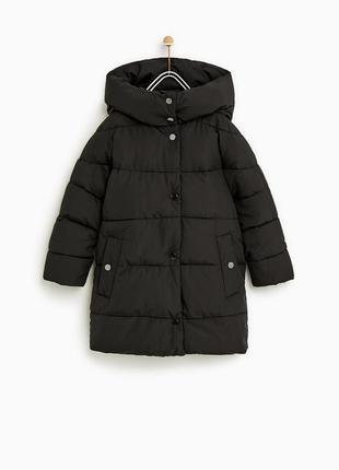 Куртка зимняя zara на 13-14лет