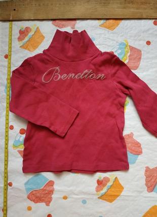 Гольфик розовый на девочку benetton