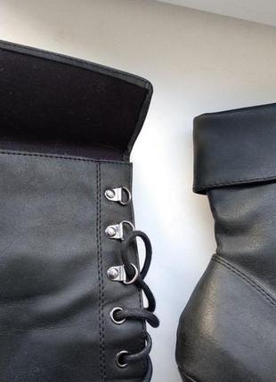 Брендові чоботи жіночі new look 42 [великобританія] 28 см (сапоги женские)4 фото