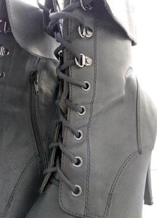 Брендові чоботи жіночі new look 42 [великобританія] 28 см (сапоги женские)3 фото