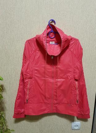 Яркая, качественная кофта, бобка, курточка, ветровка reebok, оригинал