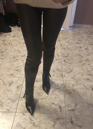 Кажаные штаны-лосины