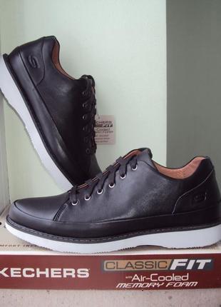 Skechers. р-42.5(27.5см). мужские кожаные туфли, кеды, мокасины. оригинал из сша. киев