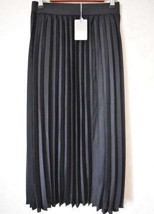 Новая красивая плиссированная юбка большого размера