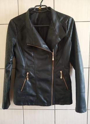 e2dae7a9d680 Куртки из искусственной кожи женские 2019 - купить недорого вещи в ...