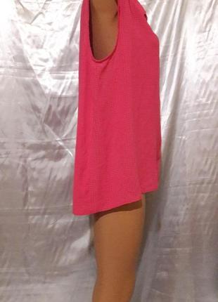 Малиновая блуза с удлиненной спинкой2 фото