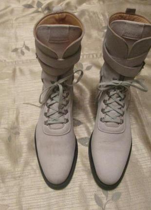 Кожаные ботинки heschung р. 39 - 39.5