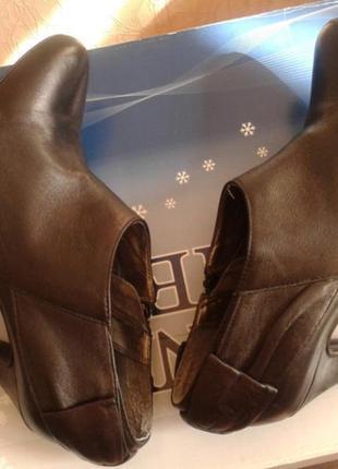 Кожаные туфли  ...бренд -oasis---38 р3 фото