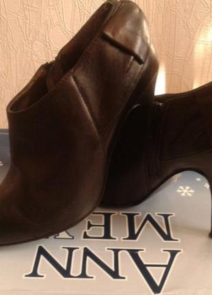 Кожаные туфли  ...бренд -oasis---38 р1 фото